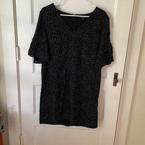 Black Madewell Polka Dot Dress